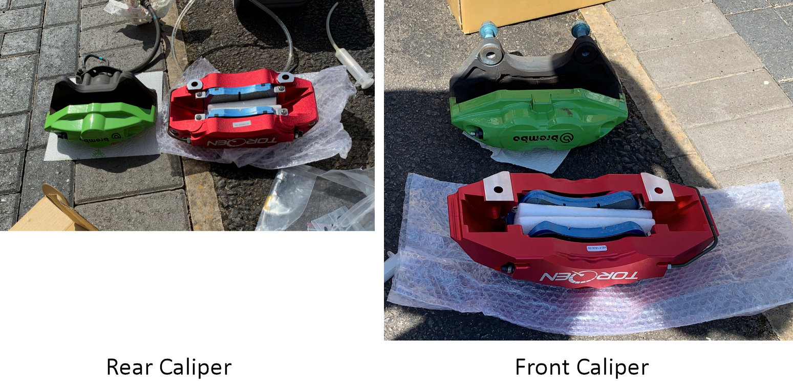 Calipers Comparison
